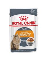 Royal Canin Intense Beauty консервы для кошек для поддержания красоты шерсти кусочки в соусе 85г