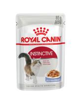 Royal Canin Instinctive консервы для кошек старше 1года кусочки в желе 85г