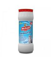 Mr.Fresh 2в1 Ликвидатор запаха кошачьих туалетов 500г (порошок)