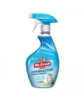 Mr.Fresh 3в1 Ликвидатор пятен и запаха от кошек и хорьков 500мл