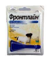 Фронтлайн Спот Он Капли для собак  2-10кг  от блох и клещей, S 0,67мл*1пипетка