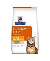 HILL'S диета для кошек C/D Urinary Care профилактика МКБ, курица