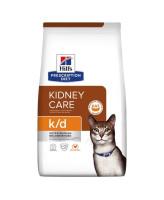 HILL'S диета для кошек K/D Kidney Care лечение заболеваний почек, МКБ (ураты, оксалаты)
