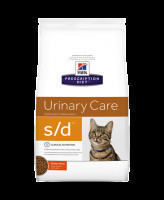 HILL'S диета для кошек S/D лечение мочекаменной болезни (струвиты)