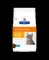 HILL'S диета для кошек C/D Urinary Care профилактика МКБ,  океаническая рыба 1,5кг