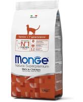 Monge Cat Senior корм для пожилых кошек