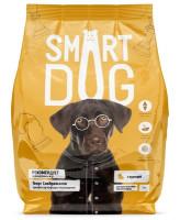 Smart Dog корм для взрослых собак крупных пород с курицей