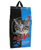 Brava Минеральный впитывающий наполнитель для длинношерстных кошек