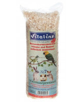Опилки для грызунов Vitaline №7 гипоаллергенные из лиственных пород древесины 14,7л