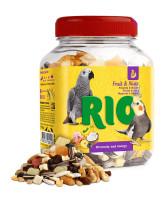 RIO Лакомство для птиц Фрукты и орехи 160г