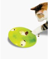 Игрушка-головоломка для кошек Catit игровой диск для лакомств и корма Hagen