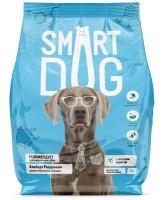 Smart Dog корм для  взрослых собак с лососем и рисом