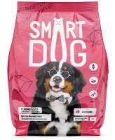 Smart Dog корм для взрослых собак крупных пород с ягненком