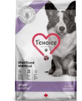 1st CHOICE Sterilized корм для кастрированных и стерилизованных собак всех пород