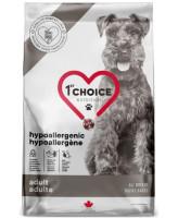 1st CHOICE GF Hypoallergenic беззерновой корм для собак, Утка