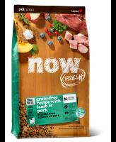 NOW FRESH Беззерновой корм для собак мелких пород с ягненком и овощами