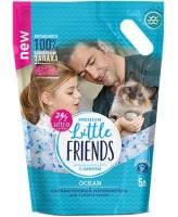 Little Friends Ocean Наполнитель силикагелевый с ароматом свежести океана 5л