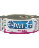 Farmina Vet Life Struvite Диета для кошек при МКБ со струвитами 85г паштет