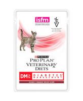 Pro Plan DM Diabetes Консервы для кошек при сахарном диабете, с говядиной 85г