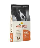 Almo Nature Medium Chicken корм для собак средних пород с курицей