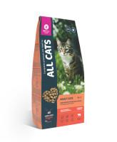 All Cats корм для взрослых кошек с говядиной и овощами