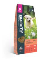 All Puppies корм для щенков всех пород с говядиной и овощами 13кг