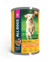 All Dogs консервы для собак Тефтельки с индейкой в соусе 415г