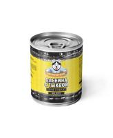 Погрызухин консервы для собак Оленина с тыквой