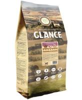 Glance корм для взрослых собак с чувствительным пищеварением, с ягнёнком и рисом 20 кг