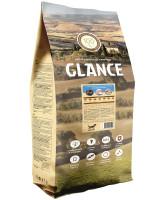 Glance корм для взрослых собак с чувствительным пищеварением, с рыбой и рисом 20 кг