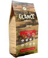 Glance корм для взрослых кошек с говядиной 20 кг