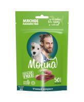 Molina лакомство для собак всех пород и щенков Утиный хворост 50г