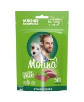 Molina лакомство для собак всех пород и щенков Утиная грудка 50г