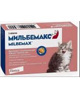 Мильбемакс антигельминтик для котят и молодых кошек, 2 таб.