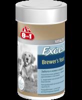 8в1 Excel Пивные дрожжи c чесноком для улучшения кожи и шерсти собак и кошек