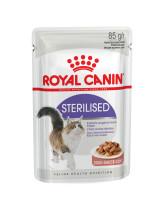 Royal Canin Sterilised консервы для стерилизованных кошек кусочки в соусе 85г