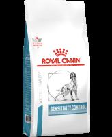 Royal Canin Sensitivity Control диета для собак с пищевой аллергией и непереносимостью, с уткой