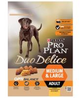 Pro Plan DUO DELICE Medium & Large корм для собак средних и крупных пород, курица/рис