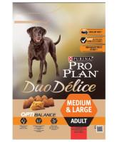 Pro Plan DUO DELICE Medium & Large корм для собак средних и крупных пород, говядина/рис