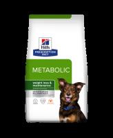 HILL'S диета для собак Metabolik коррекция веса