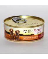 BioMenu консервы для собак Мясное ассорти 100г