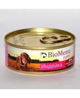 BioMenu консервы для щенков Индейка 100г
