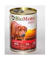BioMenu консервы для собак Говядина 410г