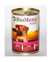 BioMenu консервы для щенков Индейка 410г
