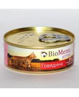 BioMenu консервы для котят паштет Мясное ассорти 100г