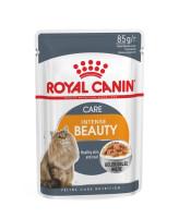 Royal Canin Intense Beauty консервы для кошек для поддержания красоты шерсти кусочки в желе 85г