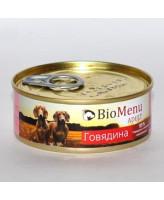 BioMenu консервы для собак Говядина 100г