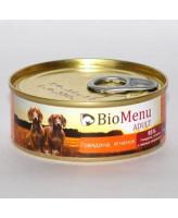BioMenu Sensitive консервы для собак Перепелка 100г