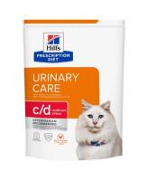 HILL'S диета для кошек C/D Urinary Stress профилактика МКБ при стрессе