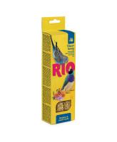RIO Палочки для волнистых попугаев и экзотов с Медом 2шт*40г